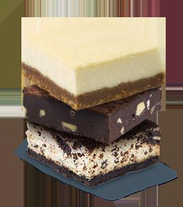 פאדג' בראוניז/עוגות גבינה